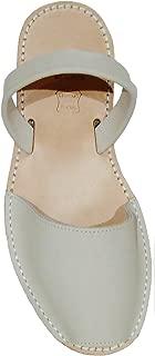 Menorca Menorquin Avarcas with Wedge/Platform of 2.5 cm. Menorcan Sandals, Avarcas Menorquinas, Leather, Abarcas