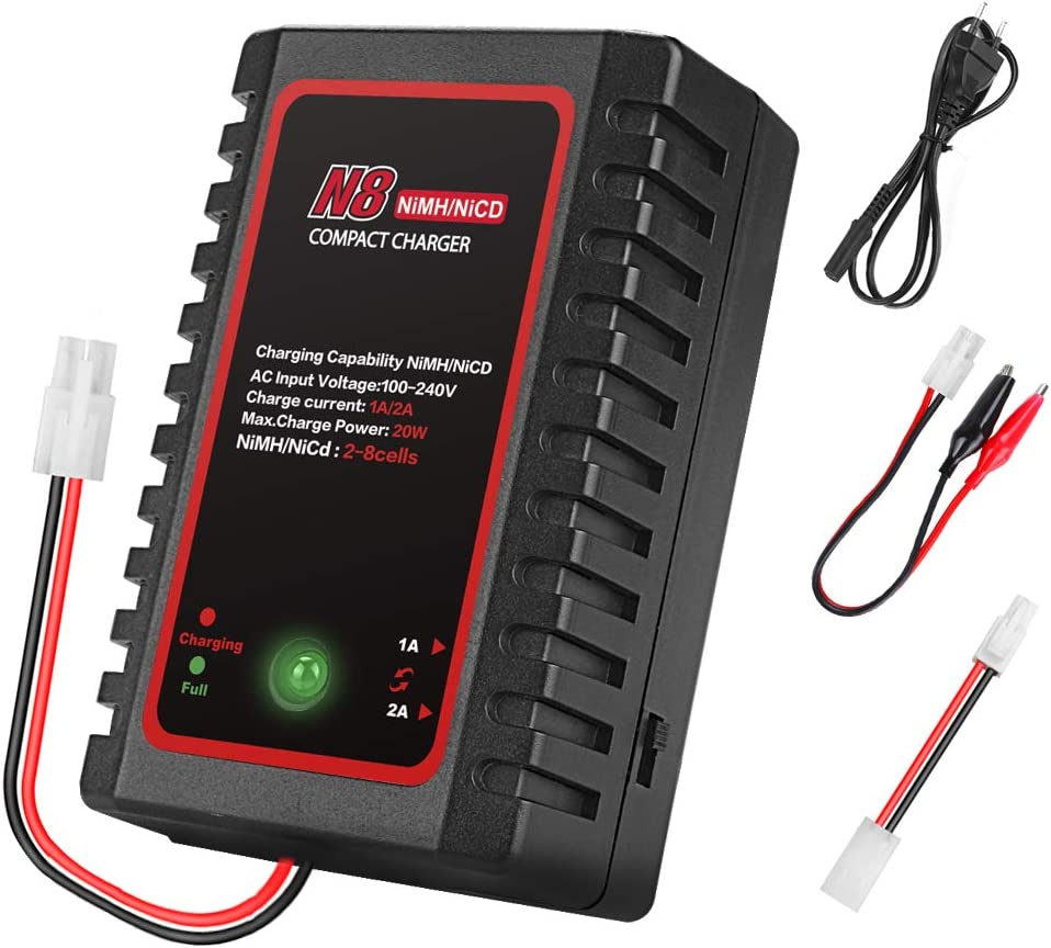NiMH NiCd Battery Mail order Charger for 2-8s Nicd Nimh with Packs Ultra-Cheap Deals