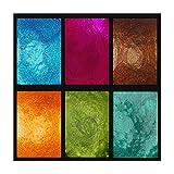 Jewelry Box, Primary Elements Arte-Pigments-SIX PC Set 1/2 oz Jar, Primary Elements Arte-Pigments