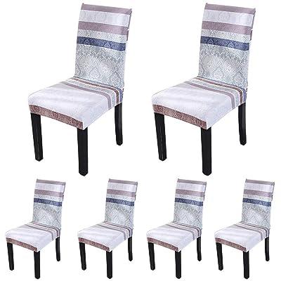 ColorBird Spandex Fabric Chair Slipcovers Remov...
