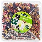 Dehner - Sacco per cani, Snackbox Jumbo, 4 mix di varietà, 1,2...