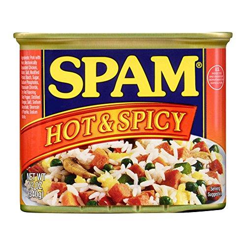 ホーメル スパム ホット&スパイシー 缶 340g