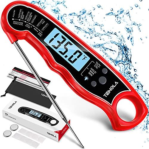 Termometro Cucina, Termometro da Cucina alimenti a lettura istantanea, termometri da cucina digitale...