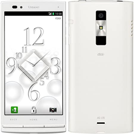 (au) URBANO L01 ホワイト (KYY21SWA)