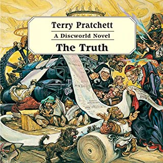 The Truth audiobook cover art