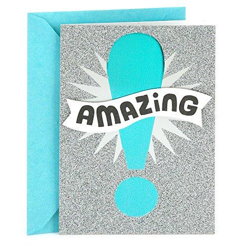 Hallmark Congratulations Card or Graduation Card (Amazing) (0499RZB1284)