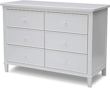 Delta Children Haven 6 Drawer Dresser, White