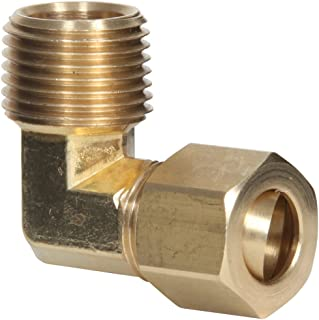 Midwest-Control Midwest Control 23400X4-P5 1//4 Mpt x Fpt Brass 90/° Street Elbow 5 Pack