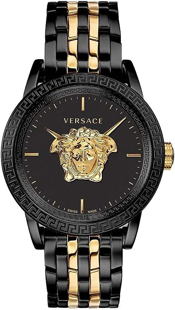 Versace palazzo empire herrenuhr , orologio per uomo, in acciaio, quadrante con una bellissima testa di medusa VERD01119