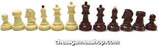 Dubrovnik Zagreb chess pieces - Plastic, Standard size, Weighted Chessmen