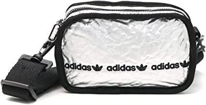 [アディダス オリジナルス]adidas Originals エアライナーバッグ ショルダーバッグ JDU21 シルバーメタリック/ブラック