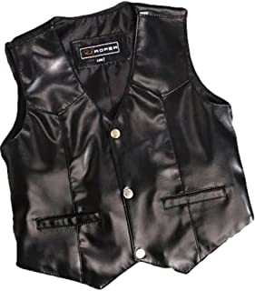 Roper Boys` Faux Suede Basic Vest - 02-094-0600-0108 Bl