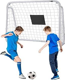 VIVOHOME 4 x 3 Feet Sports Soccer Hockey Goal Iron Frame...
