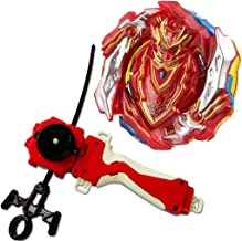 StormGyro Booster Burst B-129 Cho-Z Achilles.00.Dm Starter Spinning Toy with Launcher LR & Grip