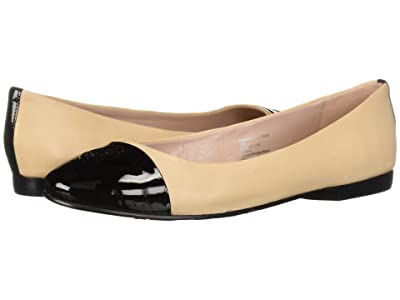 Taryn Rose Adrianna by Taryn Rose Collection (Black Nappa/Bisque Patent) Women