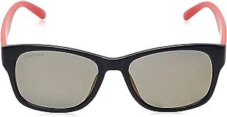 Fastrack Sundowner UV Protected Wayfarer Unisex Sunglasses - (PC001GL27|54|Mirror Gold lens)