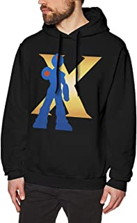 DGGE Megaman X Men's Hoodies Sweatshirts Clothing and Sports