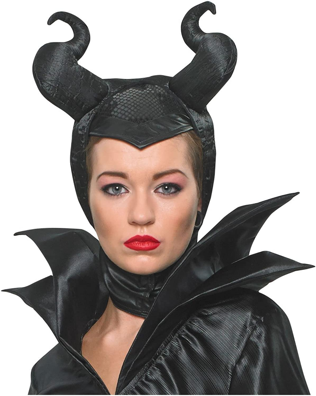 Disney Beauty Maleficent Costume Headpiece Sleeping