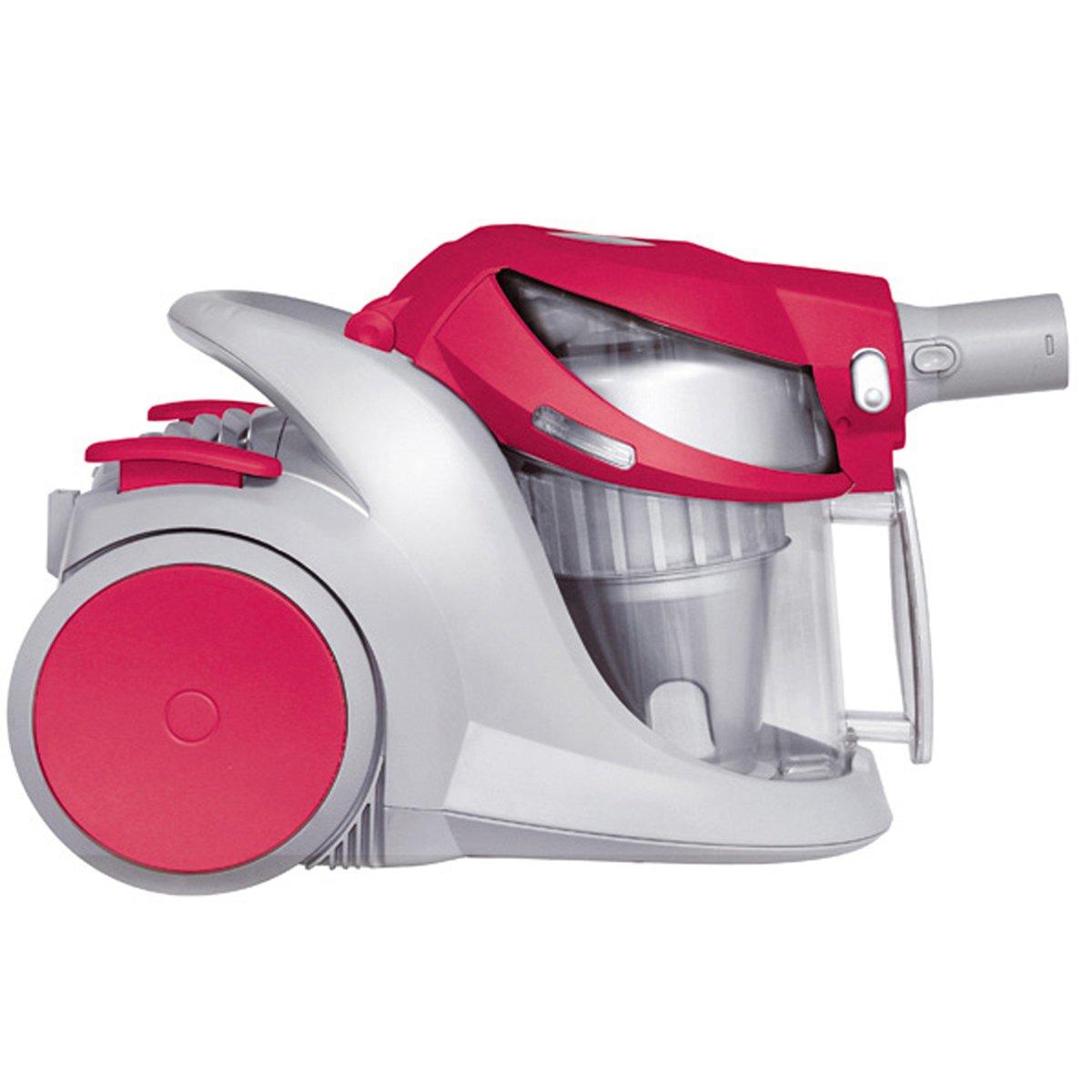 H.Koenig Hugo - Aspiradora sin bolsa, 2400 W, color rojo: Amazon ...