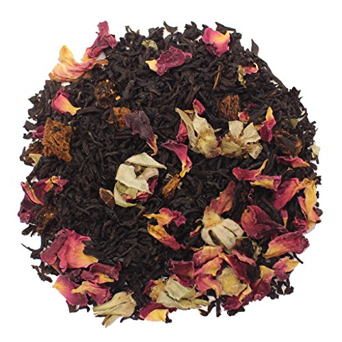 The Tea Farm - Love Potion Black Fruit Floral Tea - Loose Leaf Black Tea (2 Ounce Bag)