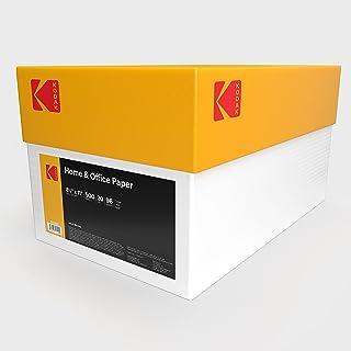$72 » Kodak Printer Paper 20 lb Copy Paper 8.5 x 11, 96 Bright (Case, 5000 Sheets)