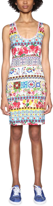 Desigual Womens Luana Sleeveless Dress Casual Dress