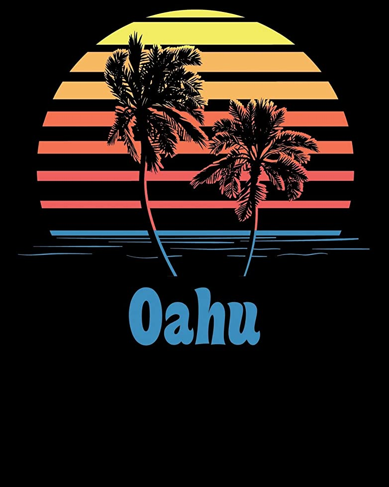 ファセットビルダーコマースOahu: Beach Vacation Travel Planner and Journal (8 x 10)
