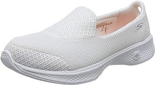 Women's Go Walk 4 Propel Walking Shoe, White, 9 W US