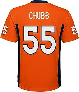 Outerstuff Bradley Chubb Denver Broncos #55 Orange Youth Home Mid Tier Jersey