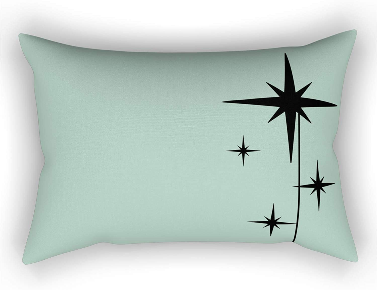 Society6 1950s Atomic Age Retro Starbursts Bla Denver Mall Mint Bargain in Green and