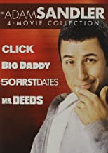 The Adam Sandler Collection: (Click / Big Daddy / 50 First Dates / Mr. Deeds)