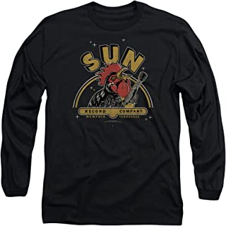 2Bhip Sun Records Media Company Record Label Rocking Rooster Adult Long Sleeve T-Shirt