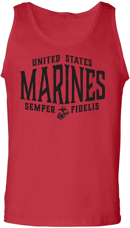 zerogravitee U.S. Marines Semper Fidelis Adult Tank Top