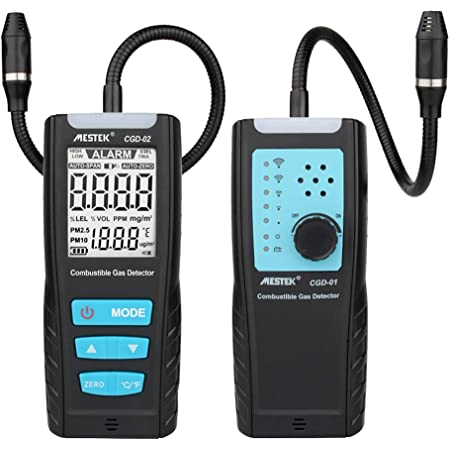 KKmoon Combustible Gas Leak Detector Tester with Visual Leakage Indicator I2K7