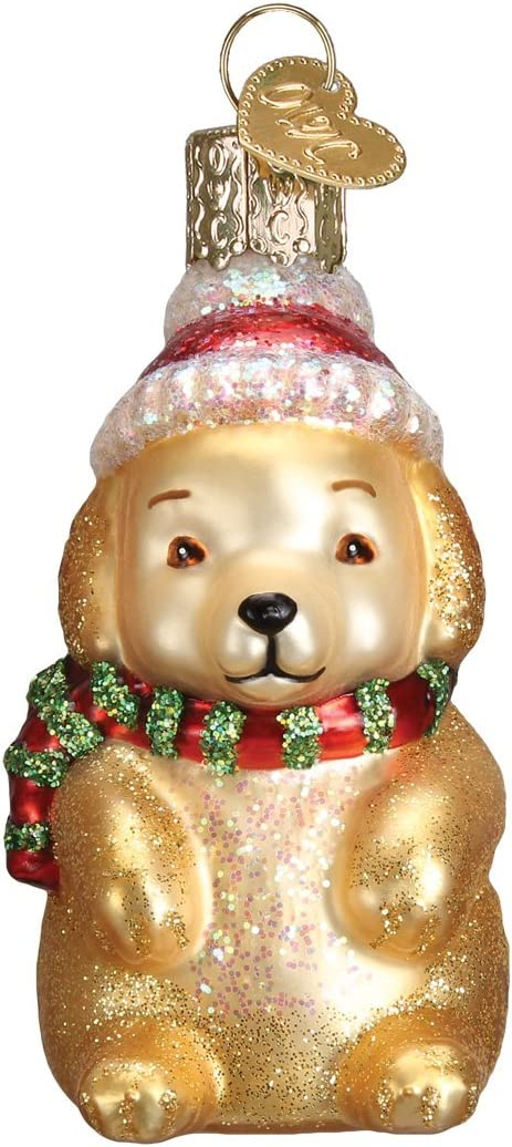 Old World Sale item Christmas Dog Collection Blown Luxury Glass Ornaments Chr for