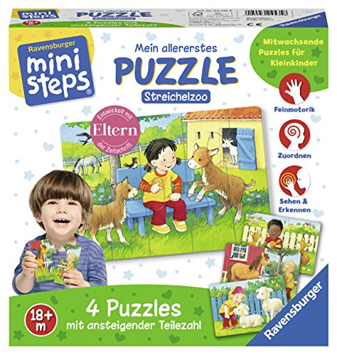 Ravensburger Ministeps 04535 – Mon Premier Puzzle : câlin