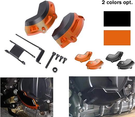Xx Ecommerce Für K T M 790 Duke 2018 2019 Motor Stator Slider Fall Schutzabdeckung Protector Set Motorrad Zubehör Teile Für Duke 790 18 19 Schwarz Auto