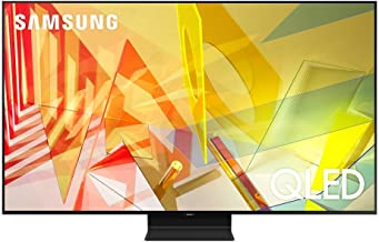 """$2122 » Samsung QN65Q90TA 65"""" 4K Ultra High Definition Smart QLED TV with an Additional 4 Year Coverage by Epic Protect (2020)"""