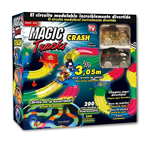 Las Ofertas de la Tele Magic Tracks CRASH: el circuito modulable que...