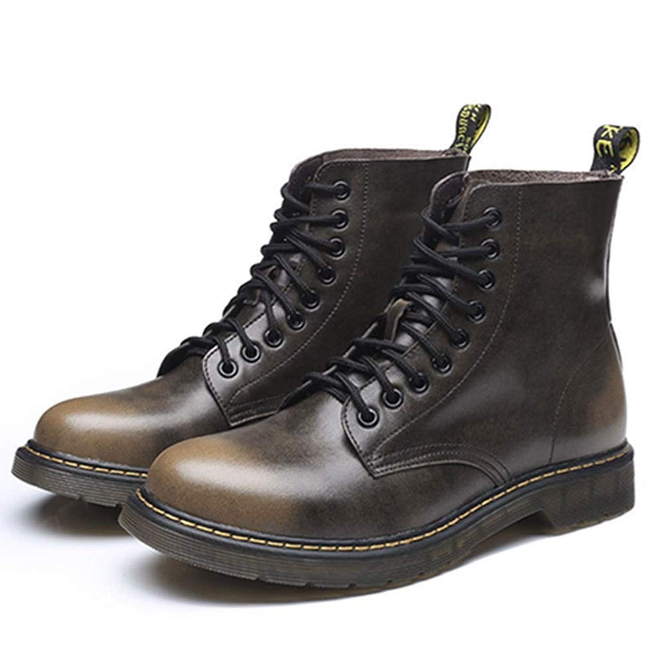 広い忙しいコンテンポラリーブーツ メンズ エンジニアブーツ レースアップブーツ おしゃれ カジュアル 防滑 マーチン 革靴 通気 防水性 短靴 アウトドア マーティンブーツ 歩きやすい 作業靴 大きいサイズ ショートブーツ 通学 通勤 紳士靴