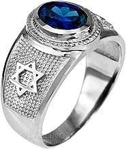 star of david sapphire