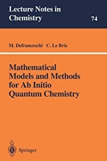Mathematical Models and Methods for Ab Initio Quantum Chemistry