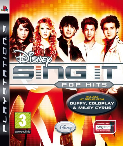 Disney Sing It: Pop Hits (PS3) [Importación inglesa]