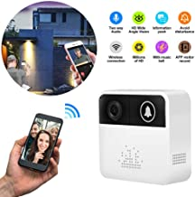 AKDSteel Home Smart Wireless WiFi Visual Intercom Doorbell for Home Use