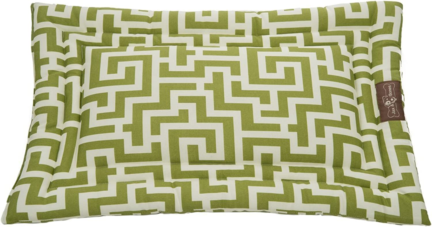 Jax and Bones Labyrinth Occasional Outdoor Cozy Pet Mat, Large