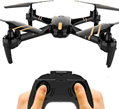 GILOBABY RC Quadcopter Drone 2.4Ghz 4CH 6-Axis Gyro, Night Light Mode, 12-15 Min Long Time Flying, One-Key Return, Headless Mode, Altitude Hold, 3D Flips, Good for Beginners, Adults & Kids