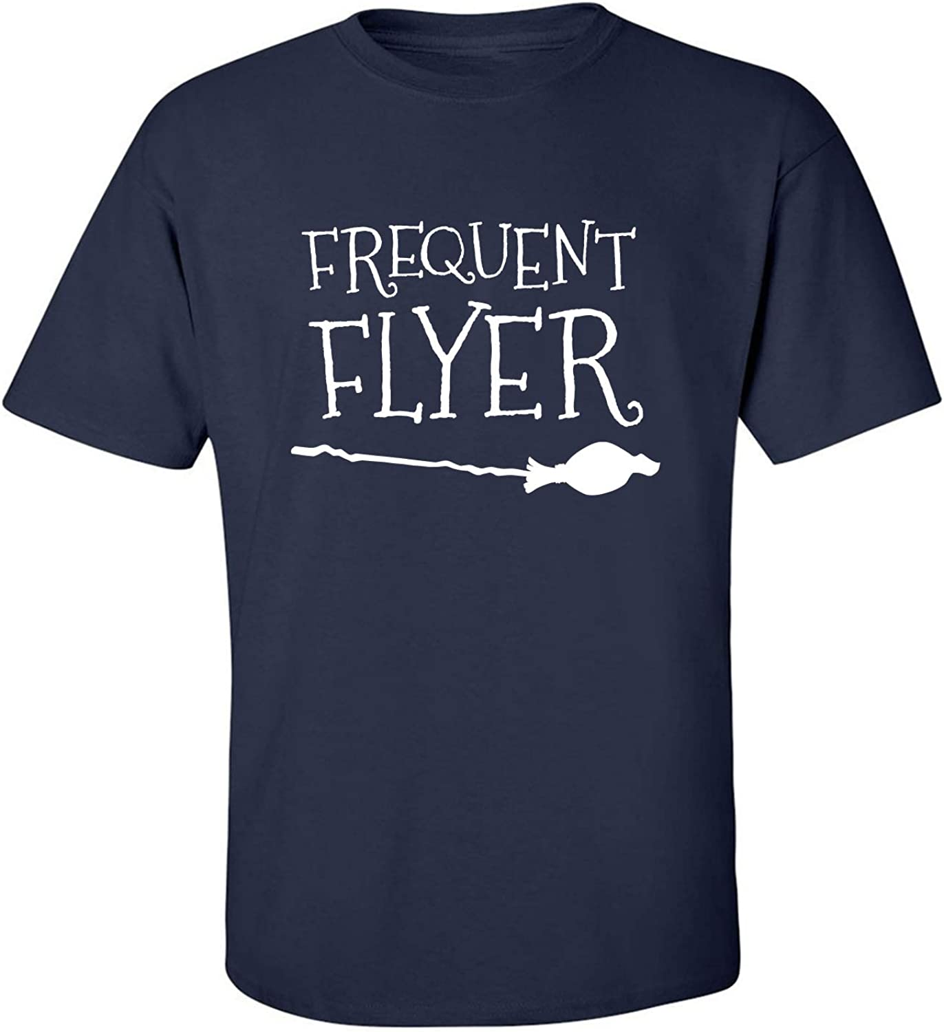 Frequent Flyer Adult T-Shirt in Navy - XXXX-Large