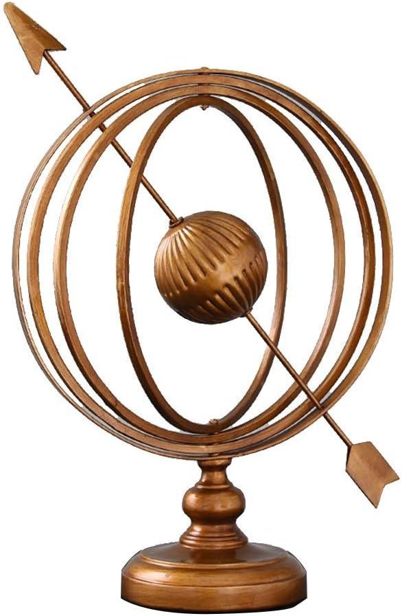 LINGLING-Model Bargain Model Decoration Max 60% OFF Retro Iron Globe Wire