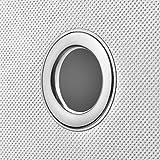 4er Set Weiß Faltbox 32 x 32 x 32 cm Aufbewahrungsbox von StickandShine faltbar mit Deckel - 4