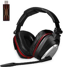 Auricularesn Gaming inalámbricos Gaming con Bass 7.1 Surround y Orejeras de Metal Auriculares con microfono para PS4, Nintendo Switch,PC